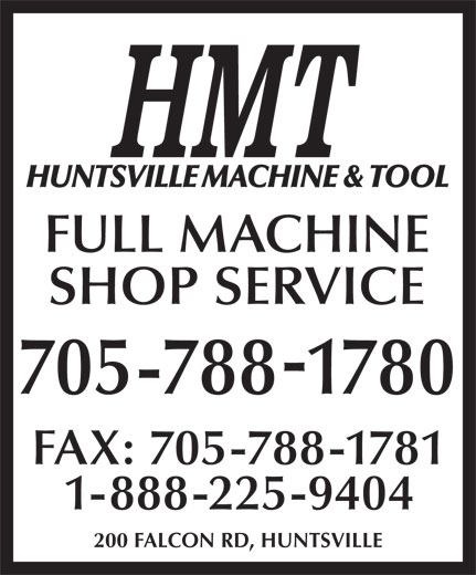 Ads Huntsville Machine &amp; Tool