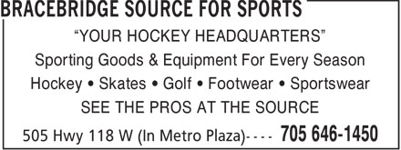 Ads Bracebridge Source For Sports