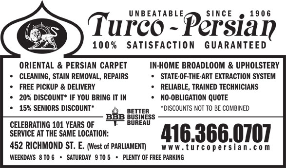 Ads Turco Persian Rug Co Ltd