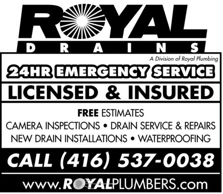 Ads Royal Plumbing Services