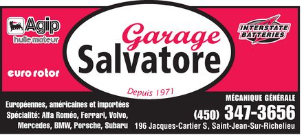 Ads Garage Salvatore