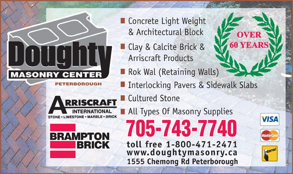 Ads Doughty Masonry Center