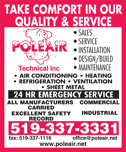 Ads Poleair Technical Inc
