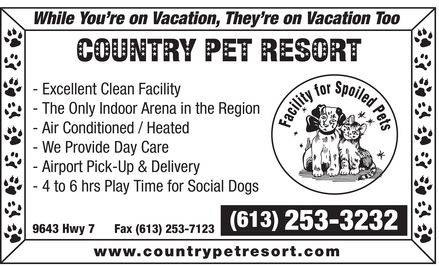 Ads Country Pet Resort