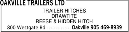 Ads Oakville Trailers Ltd