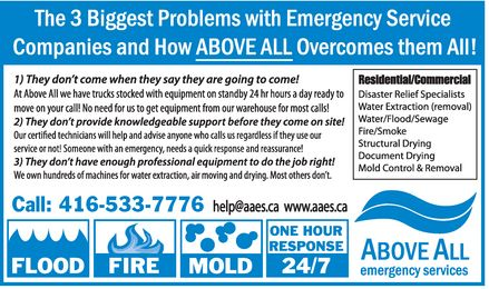 Ads Above All Emergency Services Inc