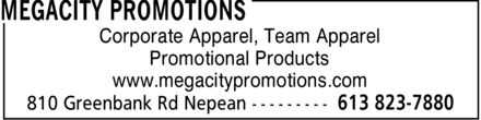 Ads MegaCity Promotions