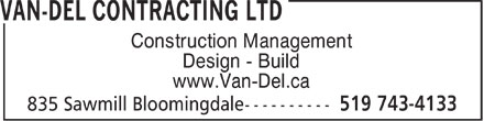 Ads Van-Del Contracting Ltd