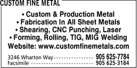 Ads Custom Fine Metal
