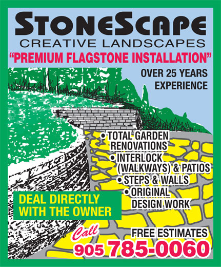 Ads Stonescape Creative Landscaping