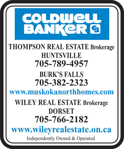 Ads Coldwell Banker-Thompson Real Estate Brokerage