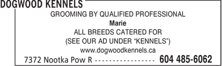 Ads Dogwood Kennels
