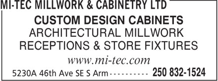 Ads Mi-Tec Millwork & Cabinetry Ltd