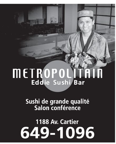 Ads Restaurant Metropolitain