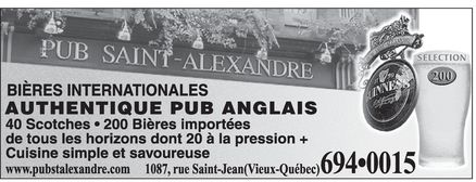 Ads Pub Saint-Alexandre