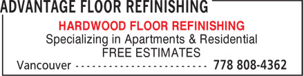 Display more featured businesses for floor laying refinishing