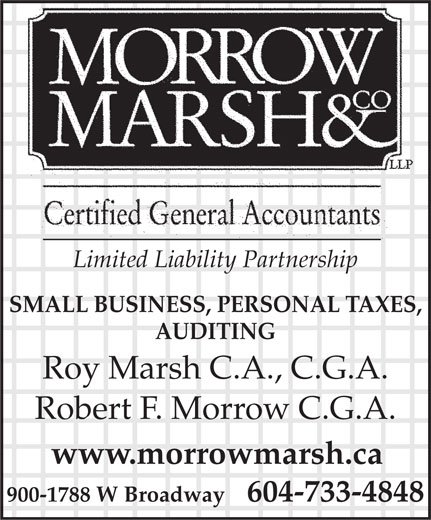 Ads Morrow Marsh & Co