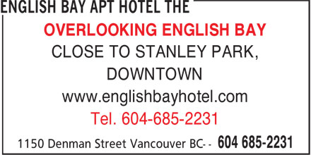 Ads English Bay Apt Hotel The