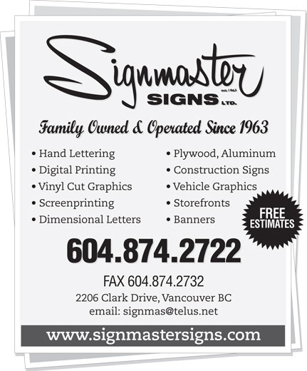 Ads Signmaster Signs Ltd