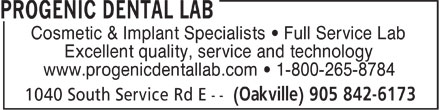 Ads Progenic Dental Lab