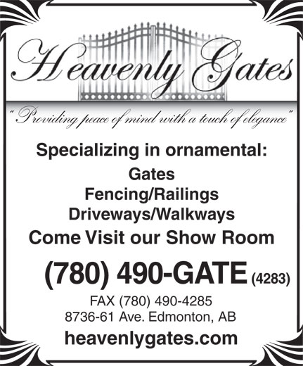 Ads Heavenly Gates Inc