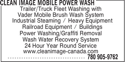 Ads Clean Image Mobile Power Wash
