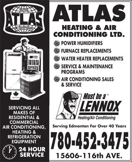 Ads Atlas Heating & Air Conditioning Ltd