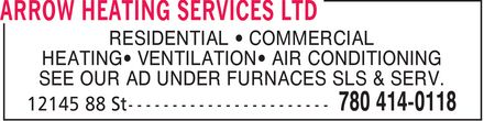 Ads Arrow Heating Services Ltd