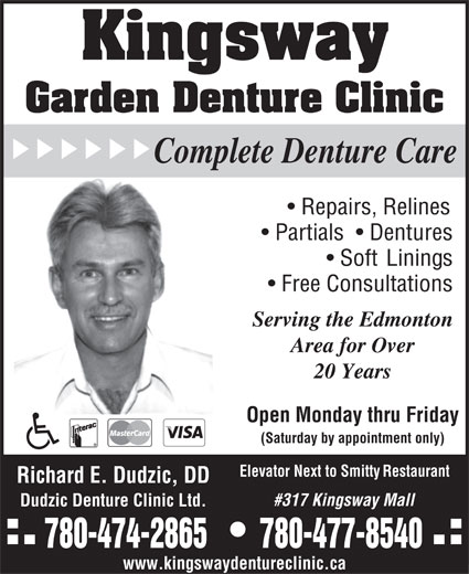 Ads Kingsway Garden Denture Clinic