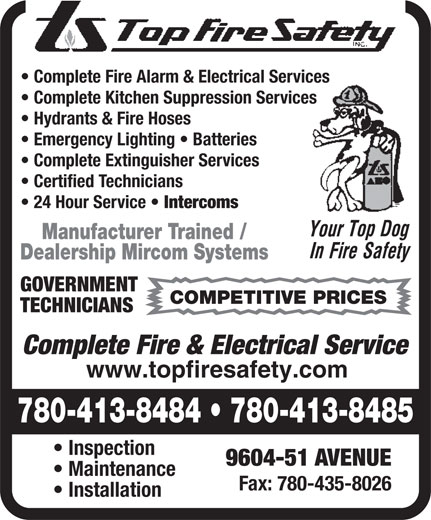 Ads Top Fire Safety Inc