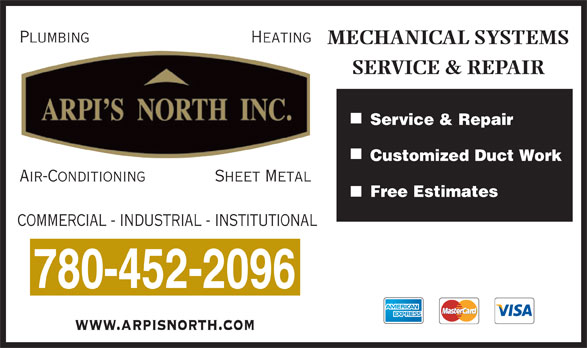 Ads Arpi's North Inc