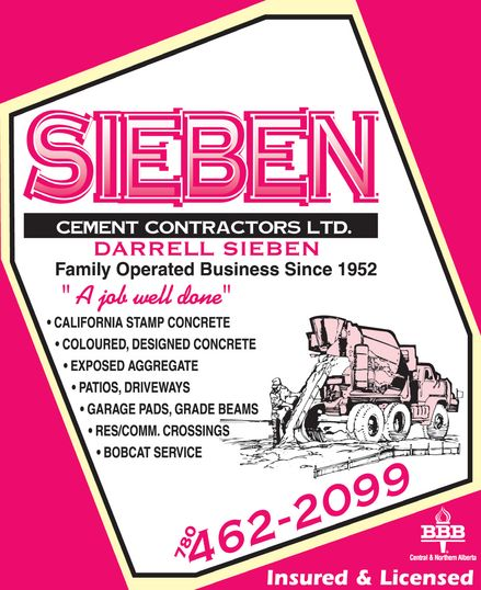 Ads Sieben Cement Contractors (1988) Ltd