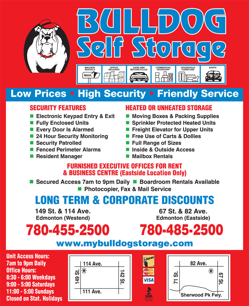 Ads Bulldog Self Storage