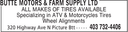 Ads Butte Motors & Farm Supply Ltd