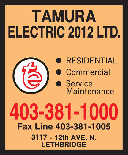 Ads Tamura Electric (2012) Ltd