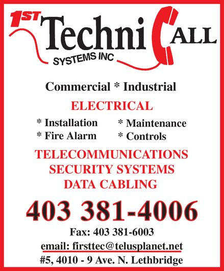 Ads 1st TechniCall Systems Inc