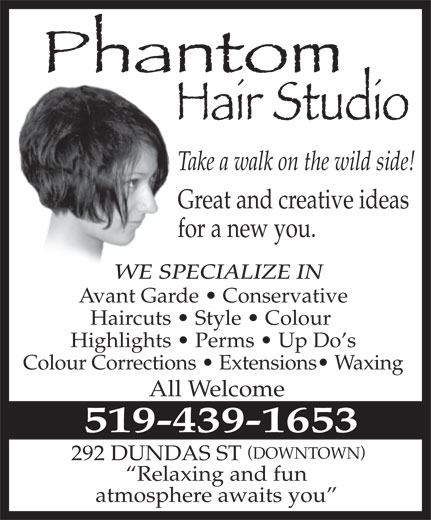 Ads Phantom Hair Studio