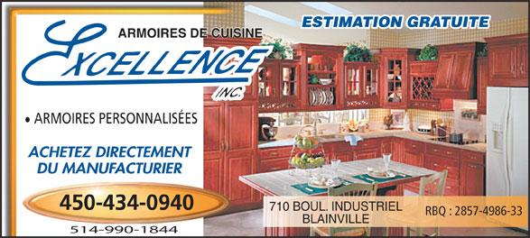 armoires de cuisine excellence inc blainville qc 710