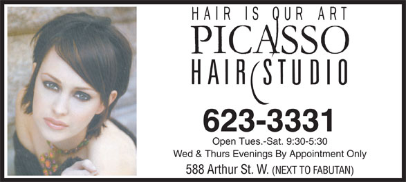 Ads Picasso Hair Studio