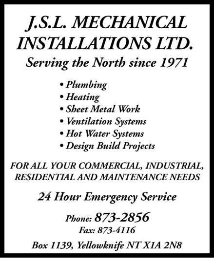 Ads JSL Mechanical Installations Ltd