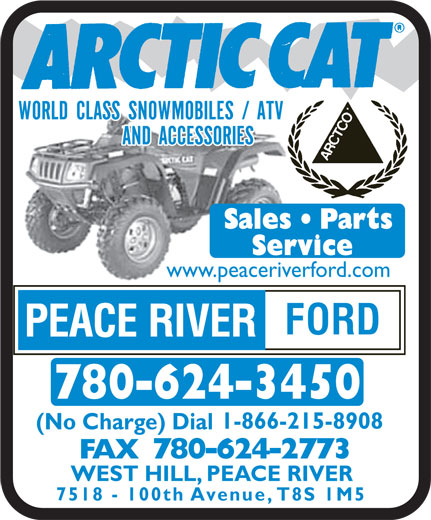Ads Peace River Ford Sales Inc