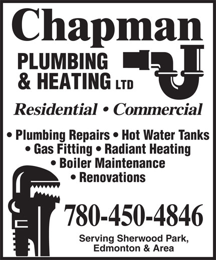Ads Chapman Plumbing & Heating Ltd