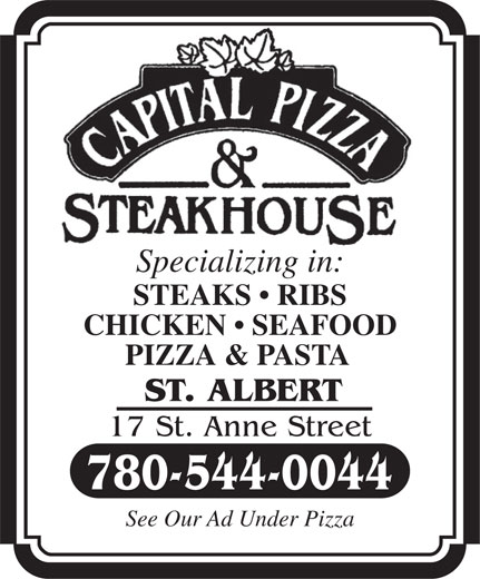 Ads Capital Pizza & Steakhouse