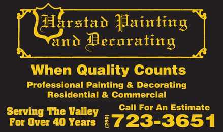 Ads Harstad Painting & Decorating