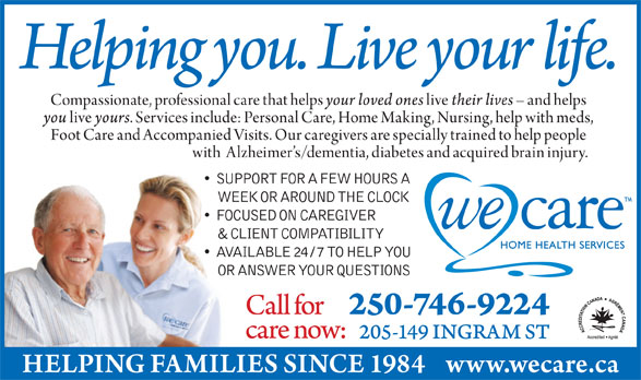 Ads We Care Home Health Services