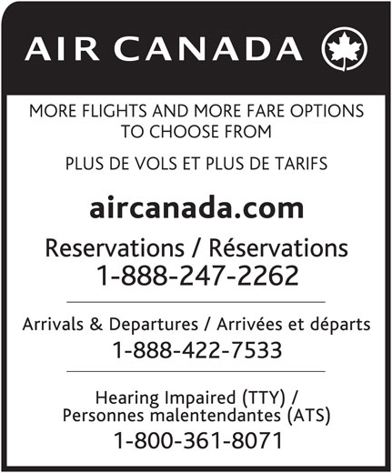 Ads Air Canada