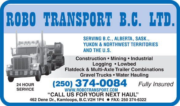 Ads Robo Transport BC Ltd