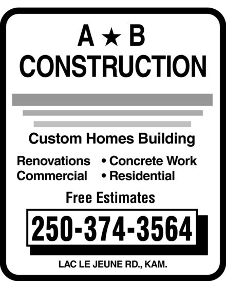 Ads A&B Construction