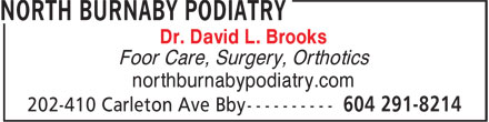Ads North Burnaby Podiatry