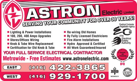 Ads Astron Electric Limited